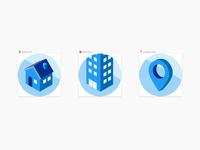 Isometric icons