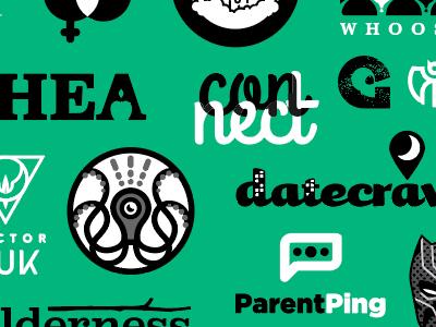 Wallpaper of previous logos