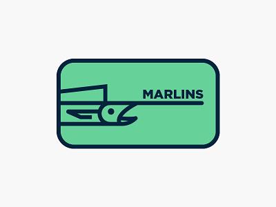Miami Marlins miami swordfish marlin fish marlins redesign baseball logo mark logo
