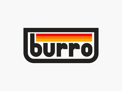 Burro Pt. 1 burrito burro donkey logistics shipping transportation building construction directions branding logomark logo