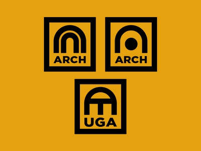 Arch logo university georgia uga a arch