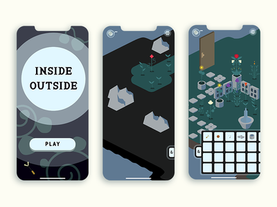 Inside Outside mystery gardening art games design ux mobile game ios android indie game