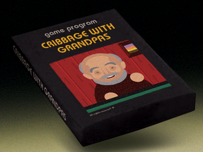 Cribbage With Grandpas good times grandpas ux android ios mobile game indie game