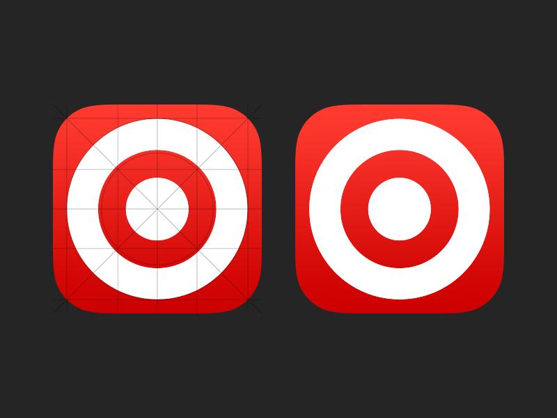 Target iOS 7 Icon icon target app icon ios 7 ios7 ios 7 icon app flat flat icon