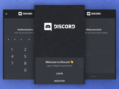 Android Login onboarding sign in log in register login auth