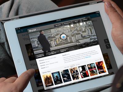 iPad Video Modal