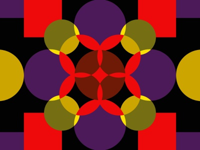 Circles grid simple vector graphic design design shapes color geometric pattern circle