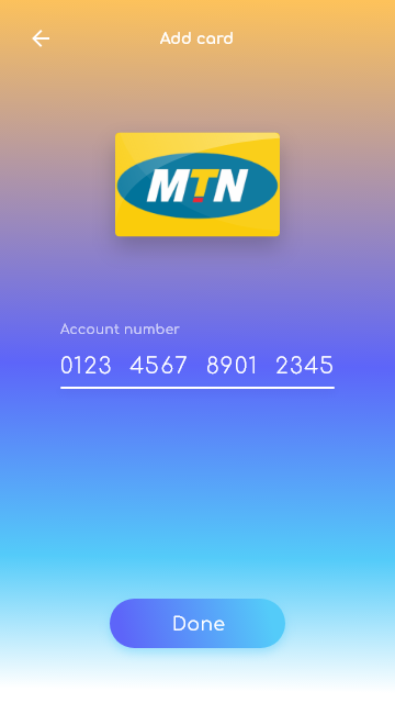 8.0 adding mtn card