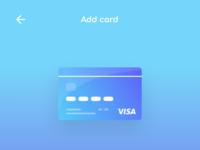 8.0 adding visa card