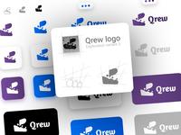 Qrew Logo - Exploration 3