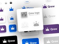 Qrew Logo - Exploration 4