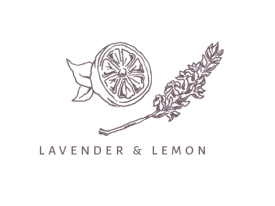 Lavender & Lemon Illustration