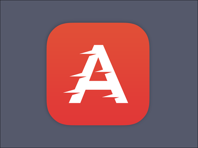 App Icon for Actionable actionable icon productivity fast speed flat minimal phone app a ios