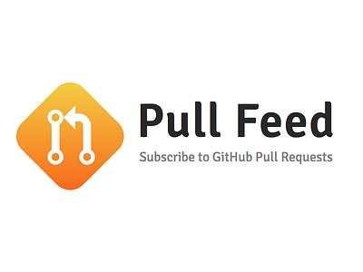 Pull Feed open source developer github utility logo