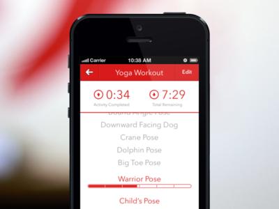 FlexTime for iOS Concept