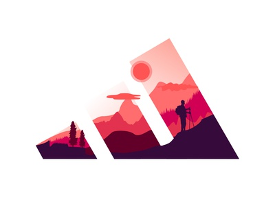 Adidas Logo: TRAVEL