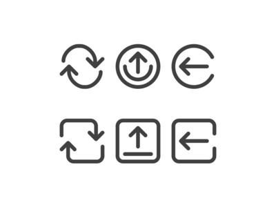 Custom iOS icon set icons custom ui ios