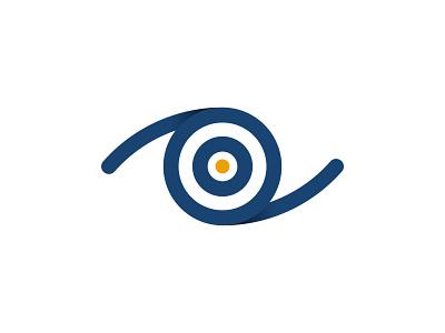 Mission for vision eyecare vision mission mark illustration digital colour art monogram icon branding symbol logo design graphic