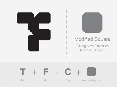 The Fit City (Logo Concept) gym logo typography monogram logo logoconcept logodesign digital colour art monogram icon branding symbol logo design graphic