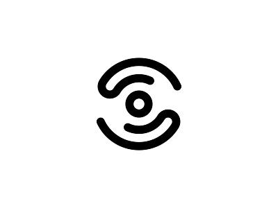 Mission for vision eye care mark illustration digital colour art monogram icon branding symbol logo design graphic