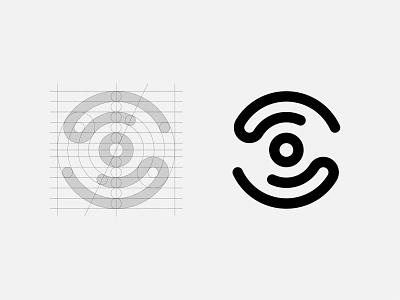 Mission for vision (Logo Construction) eye care symbol mark illustration digital colour art monogram icon branding symbol logo design graphic