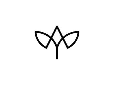 Agrowings (Logo Design) agro wings agriculture logo mark digital art monogram icon branding symbol logo design graphic