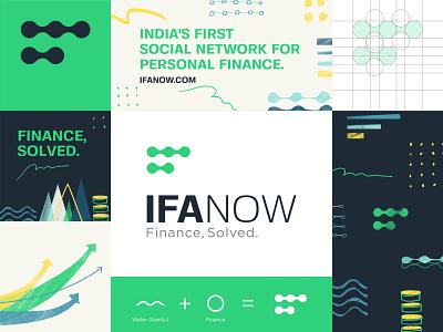 IFANOW (Branding) finance website finance logo finance app corporate branding corporate design brand identity designer brand and identity illustration digital colour art icon branding symbol logo design graphic