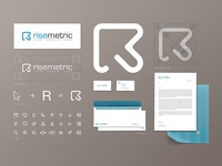 Risemetric (Logo Design)