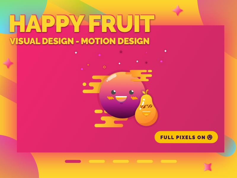 Portfolio Concept v2 webdesign ux ui trend shapes portfolio personal identity gradients flashy colorful 2017