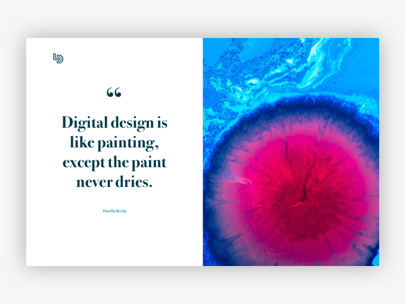 Quote #2 - Neville Brody web ux neville brody typography minimalistic logo branding design minimalism clean inspiration quote