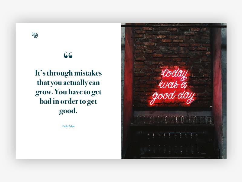 Quote #3 - Paula Scher web ux paula scher typography minimalistic logo branding design minimalism clean inspiration quote