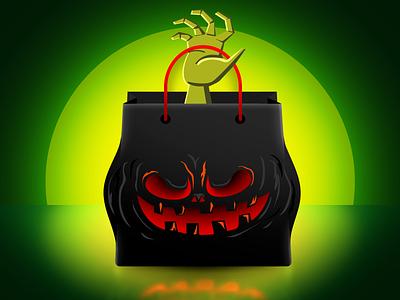 Monster Shopping Bag halloween shopping bag shopping monster