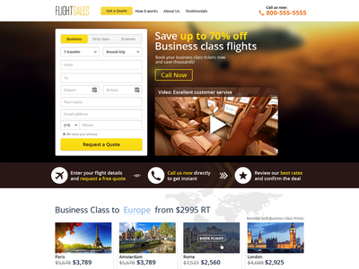 Search Flight web search flight tickets book flight call to action