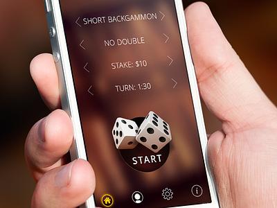 Backgammon backgammon game ios iphone dice home screen