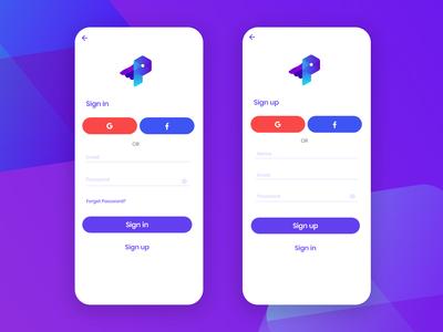 Sign in / Sign up UI - Programming Hero App