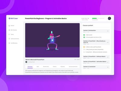 Online Learning Platform.