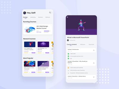 Online Learning Platform App