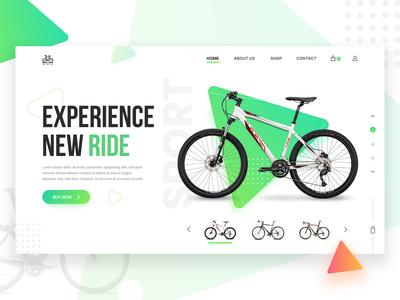 Bicycle Store - Web Header