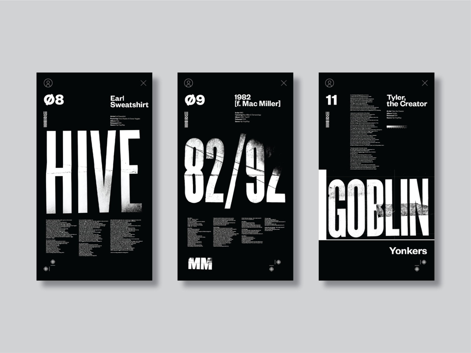Digital Music Posters By Anthony Stimola On Dribbble