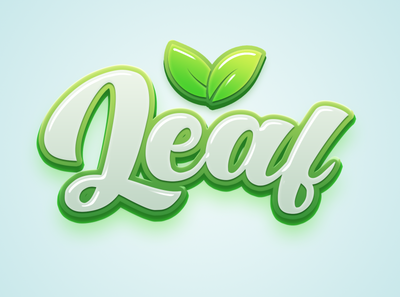 Leaf text effect freebie psd free text effect free mockup mockup graphic design 3d text psd text effect