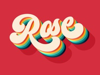 Rose - Free Text Effect