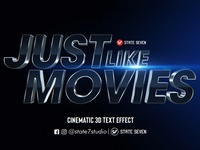 FREE Cinematic Text Effect