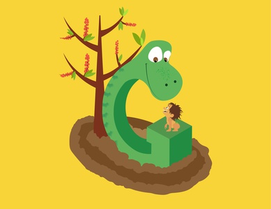 A-Z of Animated Movies/Series - G for Good Dinosaur