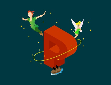 A-Z of Animated Movies/Series - P for Peter Pan