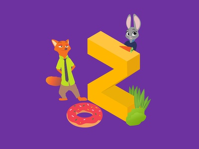 A-Z of Animated Movies/Series - Z for Zootopia