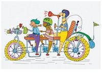 Bike Geeks - illustartion (contest artwork)
