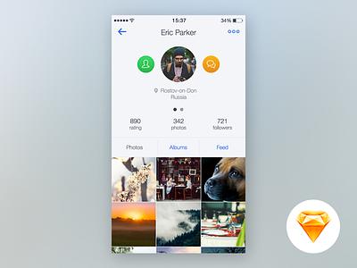 Photoapp profile Sketch Free app ios profile minimal free sketch sketchapp download light