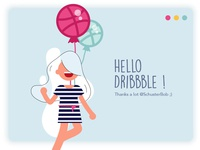 Hello Dribbble ! This is my first shot as you may see ;)