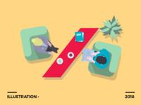 Illustration for AXA • insurance brand
