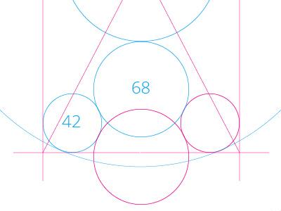 Geometric Icon iphone geometric icon golden ratio